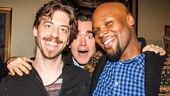 Something Rotten - Meet the Press - 2/15 -Christian Borle - Brian d'Arcy James - Michael James Scott