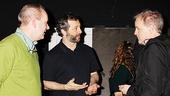 Something Rotten - backstage - 4/15 - Judd Apatow - John O'Farrell - Karey Kirkpatrick