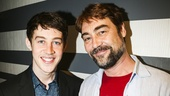 Tony Nominees - Brunch - 4/15 - Alex Sharp - Nathaniel Parker