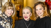 The Visit - Backstage - 6/15 - Anna Wintour - Chita Rivera - Ruth Wilson