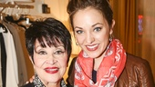 The Visit - Backstage - 6/15 - Chita Rivera - Laura Osnes
