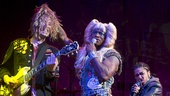 TIm Mislock, Taye Diggs as Hedwig & Rebecca Naomi Jones as Yitzhak with Justin Craig in Hedwig and the Angry Inch