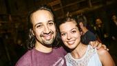 Hamilton - backstage - 9/15 - Lin-Manuel Miranda - Margo Seibert