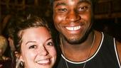 Hamilton - backstage - 9/15 - Margo Seibert and Okieriete Onaodowan
