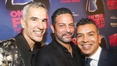 On Your Feet! - Opening - 11/15 - director Jerry Mitchell,  scribe Alexander Dinelaris and choreographer Sergio Trujillo