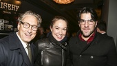 Misery - Opening - 11/15 - Bernard Telsey, Elizabeth Marvel and Zachary Quinto