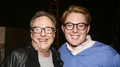 Something Rotten! - Backstage - 11/15 - Edward Hibbert and Clay Aiken