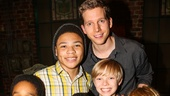 Kinky Boots - Billy Porter - Final Show - 11/15 -  Jeremy T Villas, Marquise Neal, Devin Trey Campbell, Stark Sands, Graham Montgomery and Jake Katzman