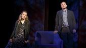 Kate Arrington as Abby and Greg Keller as Seth in Our Mother's Brief Affair