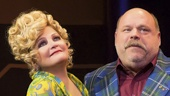 Faith Prince as Shirley and Kevin Chamberlin as Maury in Disaster!.