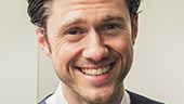 "Our Broadway boyfriend Aaron Tveit is all smiles at Miscast! He took on ""As Long As He Needs Me"" as Nancy from Oliver!."