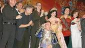 Photo Op - Beauty and the Beast Closing - cc - cast with Alan Menkin and others