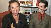 Photo Op - Bruce Springsteen at Jersey Boys - Bruce Springsteen - J. Robert Spencer