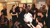 Photo Op - Brian McKnight in Chicago press event - Michelle DeJean - Brian McKnight - cast 3