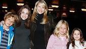 Christie Brinkley at The Little Mermaid - (son) Jack Brinkley - Alexa Ray Joel - Christie Brinkley - (daughter) Sailor Brinkley Cook - friend