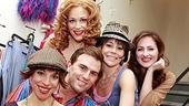 Daniel Reichard's final performance in Jersey Boys - Jennifer Naimo - Erica Piccininni - Daniel Reichard - Sara Schmidt - Heather Ferguson