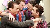 Daniel Reichard's final performance in Jersey Boys - Christian Hoff - Daniel Reichard - J. Robert Spencer - Michael Longoria - 2