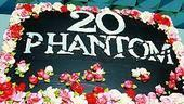 Phantom of the Opera - 20th Anniversary - cake