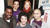 Cynthia Nixon at In the Heights - Thomas Kail - Cynthia Nixon - Lin-Manuel Miranda - Seth Stewart