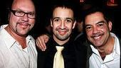 Broadway In the Heights Opening - Desmond Child - Lin-Manuel Miranda - Carlos Gomez