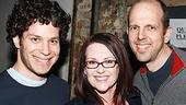 Celebs at In the Heights - Thomas Kail - Megan Mullally - Jeff Blumenkrantz
