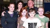 Billy Elliot Meet and Greet - Trent Kowalik with family