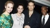 Break of Noon Opening Night – Tracee Chimo – Amanda Peet – David Duchovny – John Earl Jelks