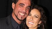 Drama Desk winners Bobby Cannavale of The Motherf**ker With the Hat and Laura Benanti of Women on the Verge of a Nervous Breakdown show off their bright Broadway smiles for our camera.