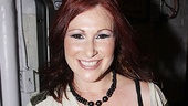 Tiffany at <i>Rock of Ages</i> - Tiffany and <i>Rock of Ages</i> playbill