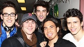 Apolo Anton Ohno Backstage at Spider-man – Adam Roberts – Christopher W. Tierney – Brandon Rubendall - Apolo Anton Ohno – Craig Henningsen