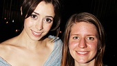 Once opening night – Cristin Milioti – Marketa Irglova