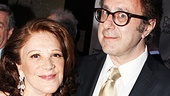 Lead actress Linda Lavin and playwright Nicky Silver celebrate their Drama Desk nominations for The Lyons.