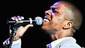 """Leslie Odom, Jr., who raised his voice in Leap of Faith, brings the house down on the finale, """"Keep the Air Alive."""""""
