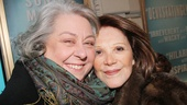 Jayne Houdyshell replaced Linda Lavin in Follies when the show transferred from the Kennedy Center to Broadway in 2011.
