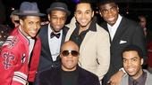'Motown' Family Night — Ephraim Sykes — Donald Webber Jr. — Stevie Wonder — Jesse Nager — Jawan M. Jackson — Julius Thomas III