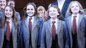Matilda – Opening Night – Bailey Ryon – Oona Laurence – Sophia Gennusa – Milly Shapiro