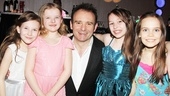 Matilda – Opening Night – Sophia Gennusa – Milly Shapiro – Matthew Warchus - Bailey Ryon – Oona Laurence