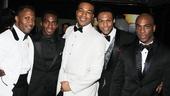 'Motown' Opening Night — Eric LaJuan Summers — Daniel J. Watts — Grasan Kingsberry — Jarran Muse — Wilkie Ferguson