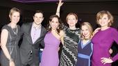 Nance Opening- Cynthia Nixon- Jonny Orsini- Andrea Burns- Julie White- Jenni Barber -Cady Huffman