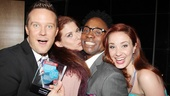 2013 Audience Choice Awards- Will Chase – Debra Messing- Billy Porter- Sierra Boggess
