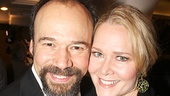 We dare you to show us a cuter couple than Danny Burstein and and Cinderella's Rebecca Luker.