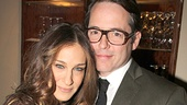 Pensacola star Sarah Jessica Parker is joined by her proud husband, Tony winner Matthew Broderick.