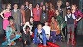 Kinky Boots - Olympians Nick Goepper & Devin Logan - OP - cast