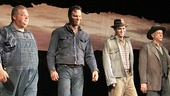 Of Mice and Men - Preview Curtain Call - OP - 3/14 - Joel Marsh Garland - Jim Parrack - James McMenamin - Jim Ortlieb