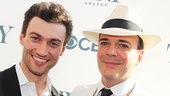 A Gentleman's Guide to Love and Murder leading men Bryce Pinkham and Jefferson Mays.