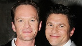 Tony-nominated Hedwig and the Angry Inch star Neil Patrick Harris and his husband David Burtka.