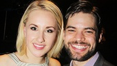 Jeanna De Waal, recently seen as Lauren in Kinky Boots on Broadway, and onstage hubby Jeremy Jordan.