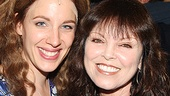 Pat Benatar takes a parting shot with Tony winner Jessie Mueller. See Beautiful: The Carole King Musical at the Stephen Sondheim Theatre!