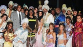 Aladdin - backstage - 9/14 - Aretha Franklin - William Wilkerson - cast