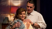 Angelina Fiordellisi as Filumena & Robert Cuccioli as Rocco Lazarra in Snow Orchid